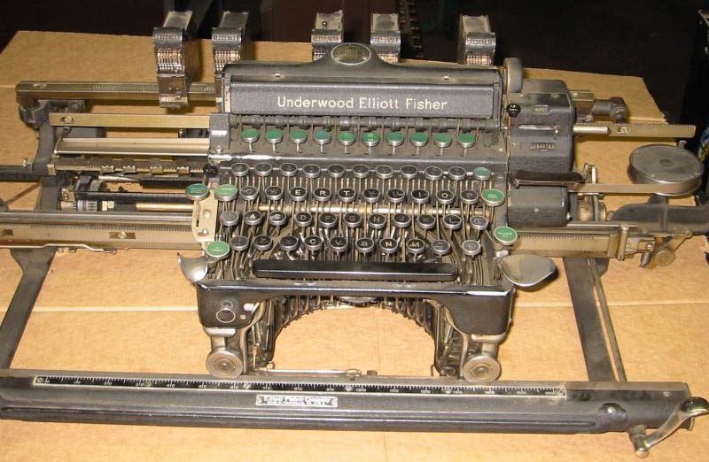 special purpose office typewriters